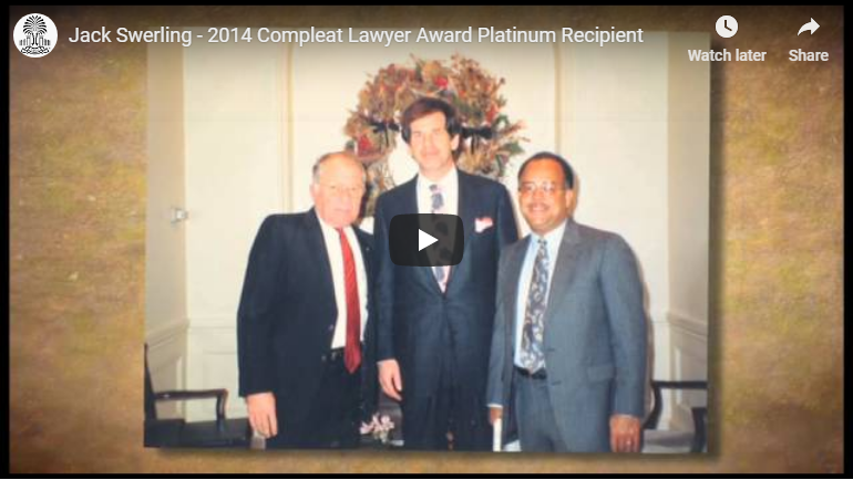 2014 Compleat Lawyer Award Platinum Recipient